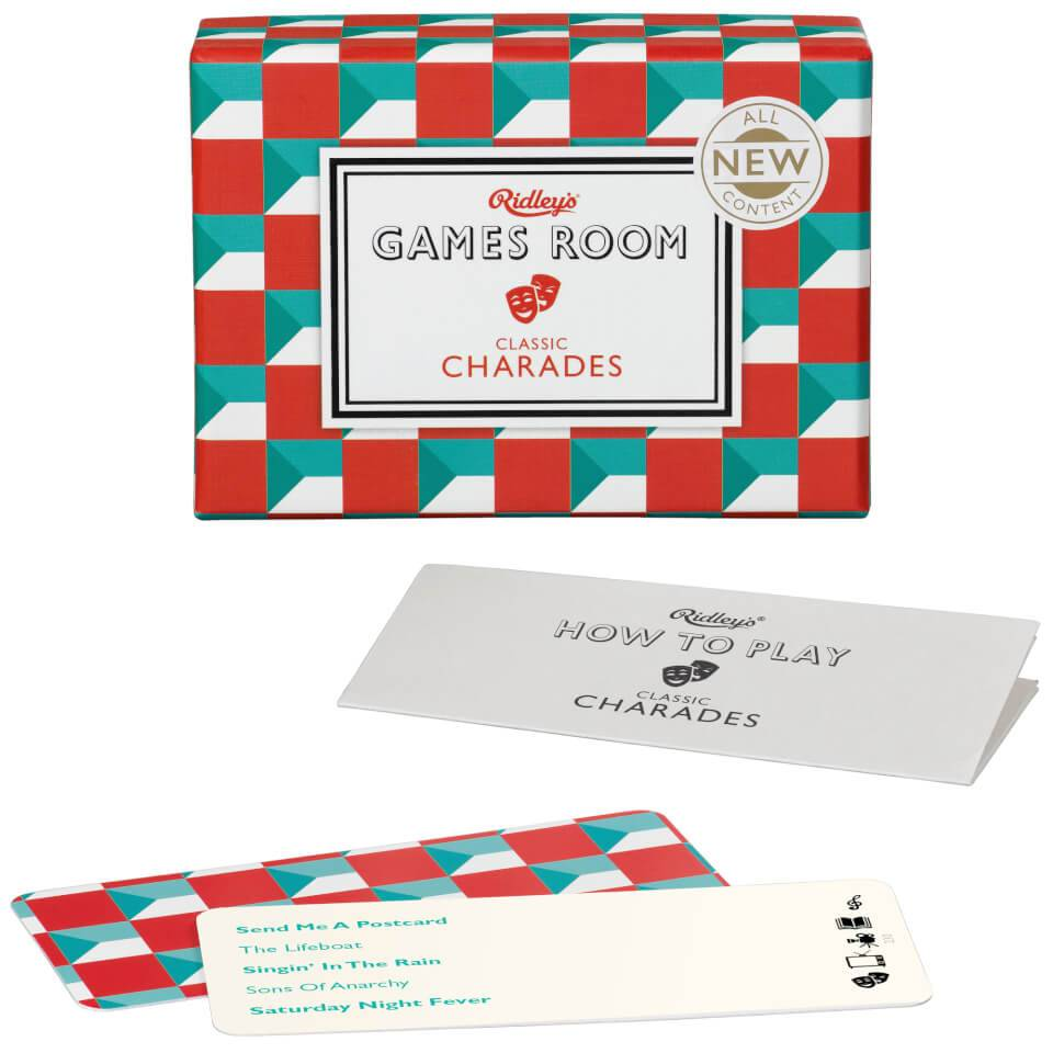 Ridleys Charades Puzzle Game