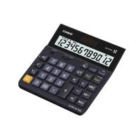 Casio 12 Digit Landscape TaxCurrency Calculator Black DH-12TER-S-EH