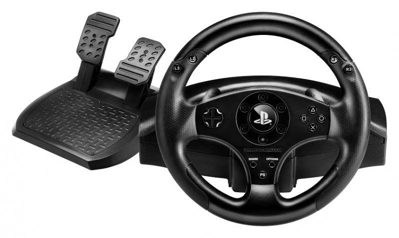 Thrustmaster T80 Steering wheel + Pedals Playstation 3,...