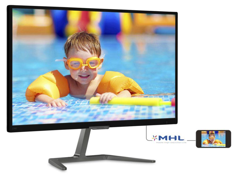 Philips LCD monitor with Ultra Wide-Color 276E7QDAB/00
