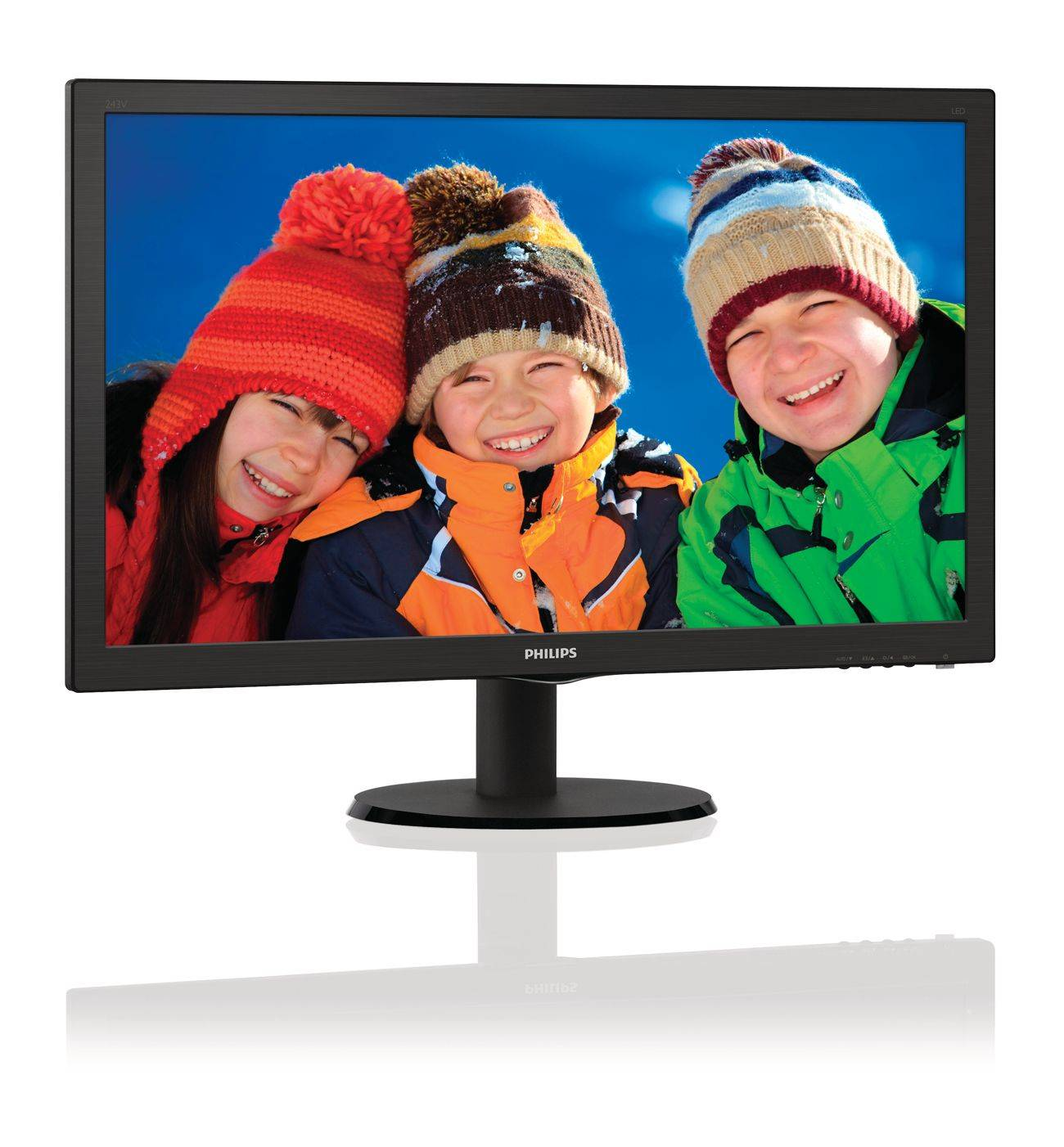 Philips LCD monitor with SmartControl Lite 243V5LHSB/00