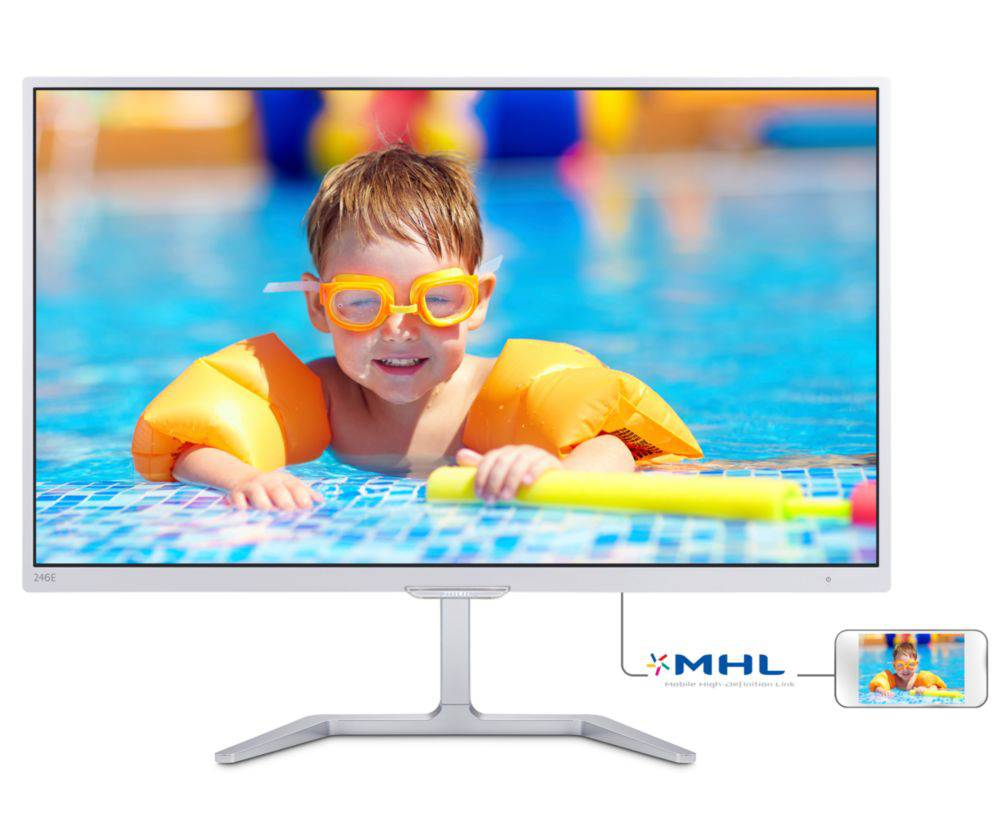 Philips LCD monitor with Ultra Wide-Color 246E7QDSW/00