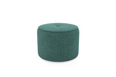 Harveys Edit Accessories Large Drum Footstool in Ealing Plain