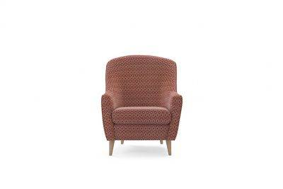 Harveys Edit Accessories Accent Chair in Hoxton Pattern