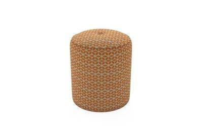 Harveys Edit Accessories Small Drum Footstool in Balham Pattern