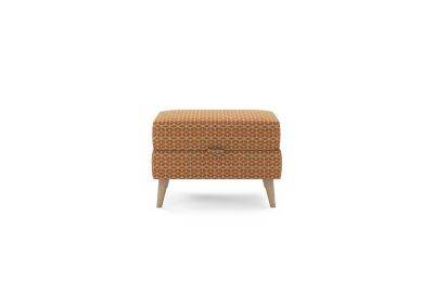 Harveys Edit Accessories Storage Footstool in Balham Pattern