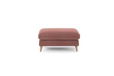 Harveys Edit Accessories Large Footstool in Hoxton Pattern
