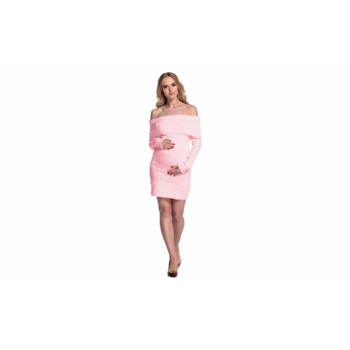 Groupon Goods Happy Mama Boutique Maternity Dress: Powder Pink