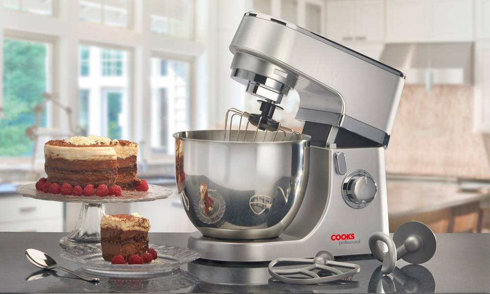 Cooks Professional Stand Mixer MK3 - Silver