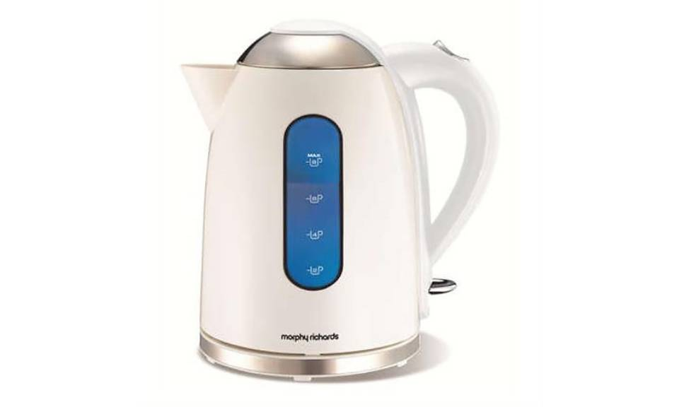 Morphy Richards Accents 1.7L Dome Jug Kettle - White