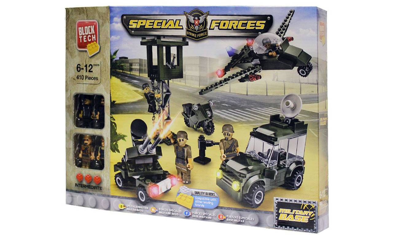 Groupon Goods Block Tech Construction Bricks Sets: Special Forces Military Base