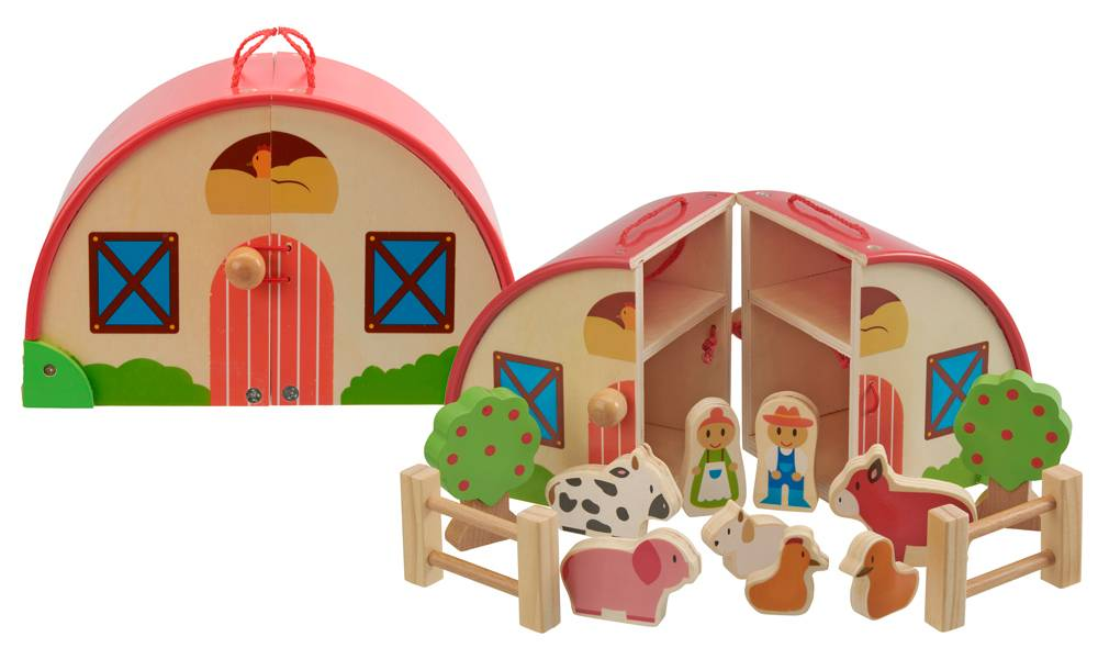 Groupon Goods Wooden Farm Set