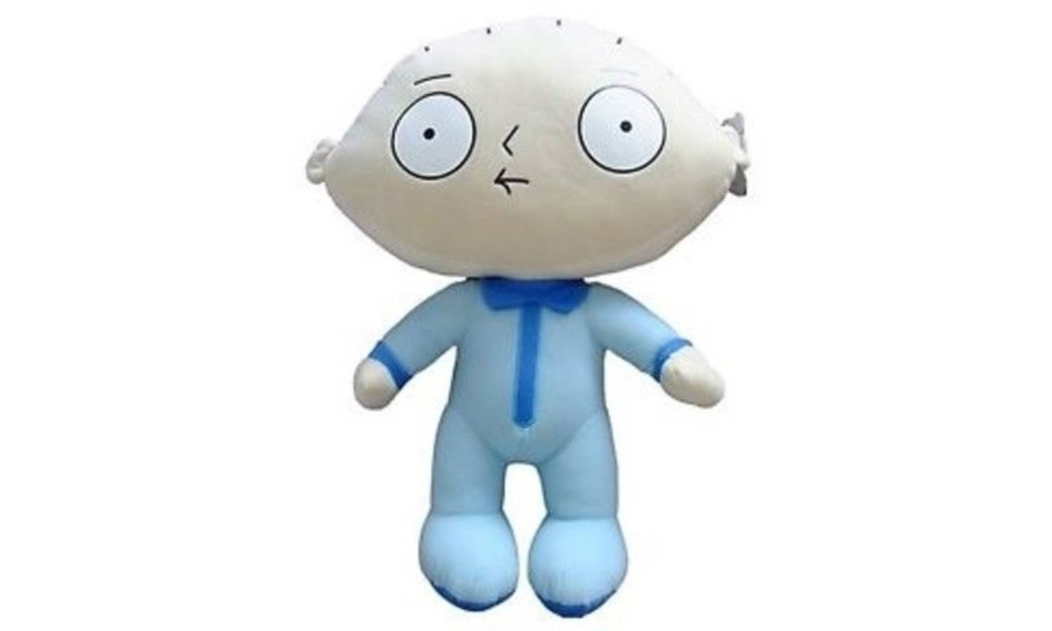Family Guy Stewie Plush Soft Toy - 54cm - Baby in Blue Suit