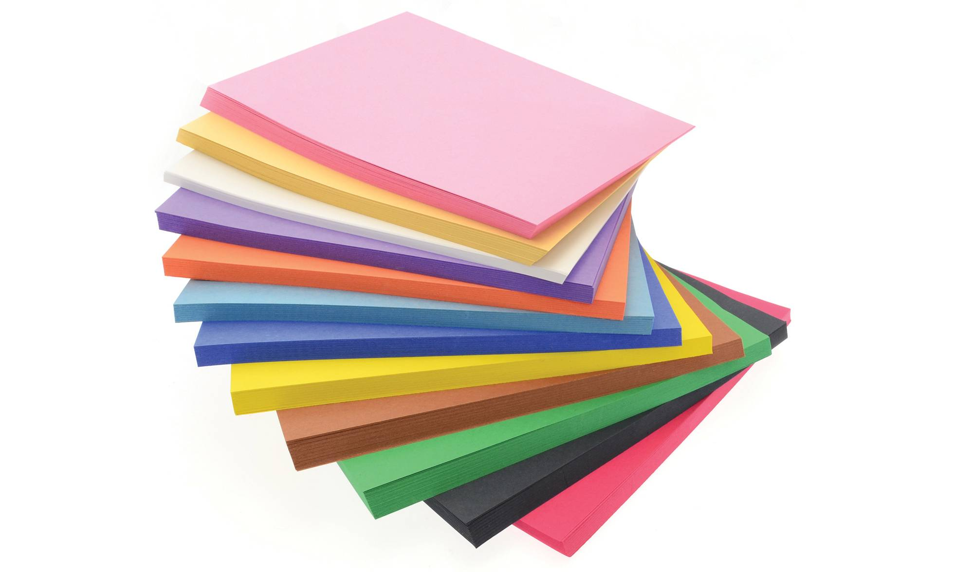 Creativity International 648 Sheets of Bumper Construction Paper Pack