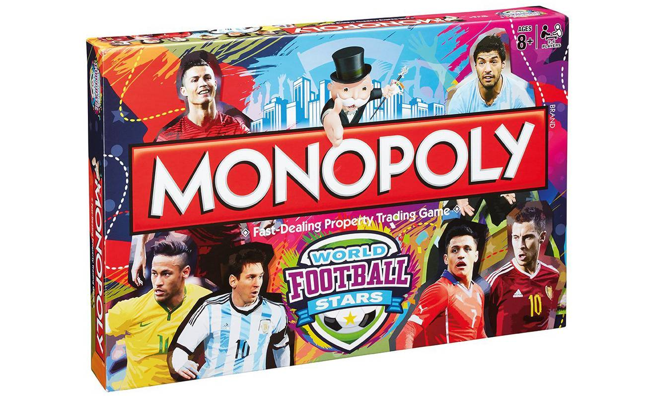 Monopoly World Football Stars Monopoly Game