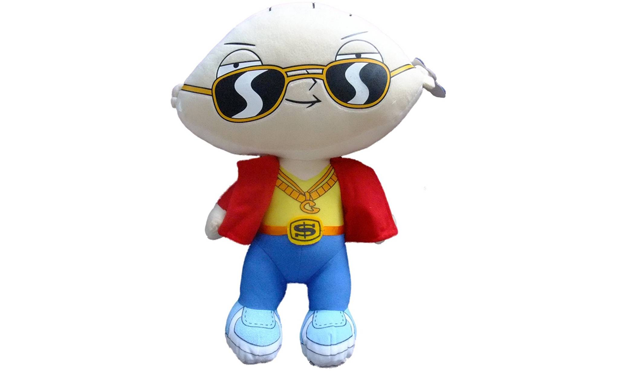 Family Guy Stewie Plush Soft Toy- Gangster