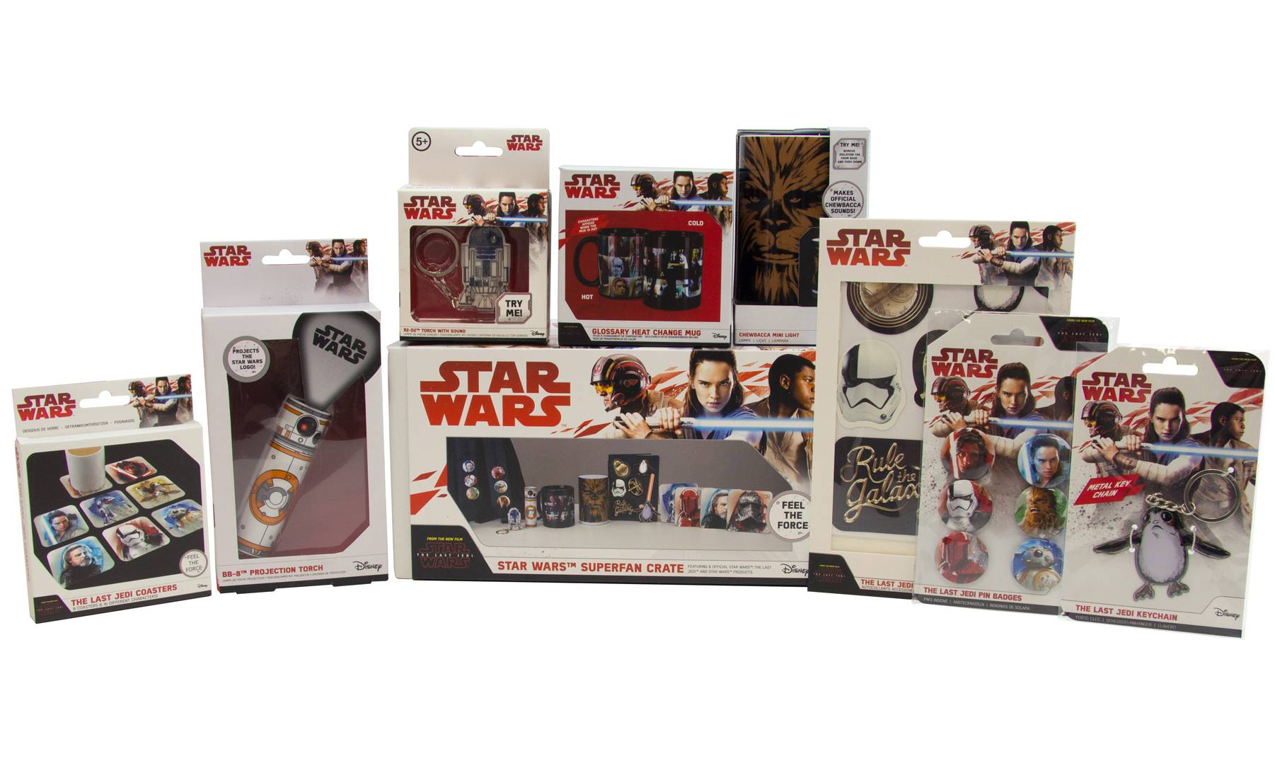 Paladone Eight-Piece Star Wars Superfan Crate
