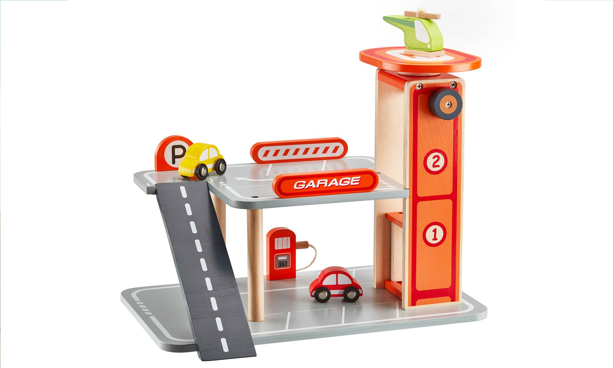 Groupon Goods Wooden Toy Parking Garage