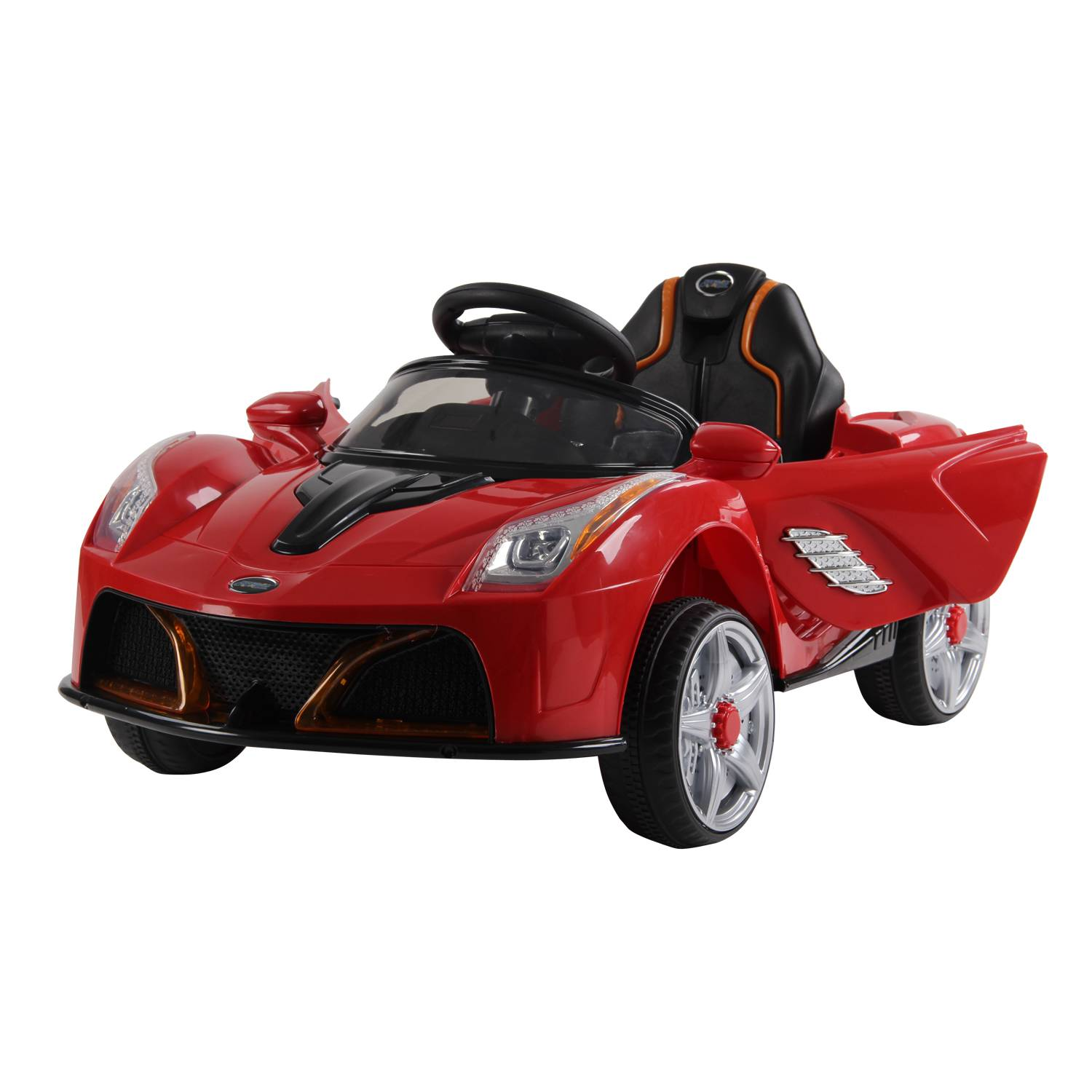 HOMCOM 6V Kids Electric Ride On Car Remote Control W / Music-Red