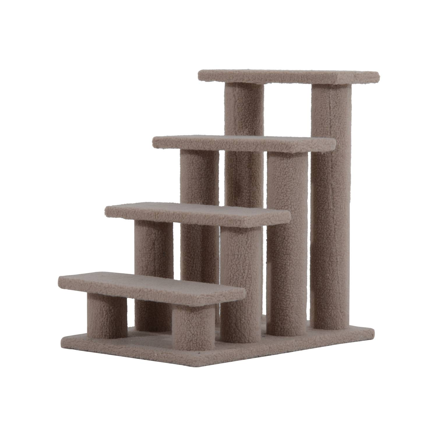 PawHut Pet Stairs Ramp Cat Tree Ladder Easy Steps Climbing Frame Staircase