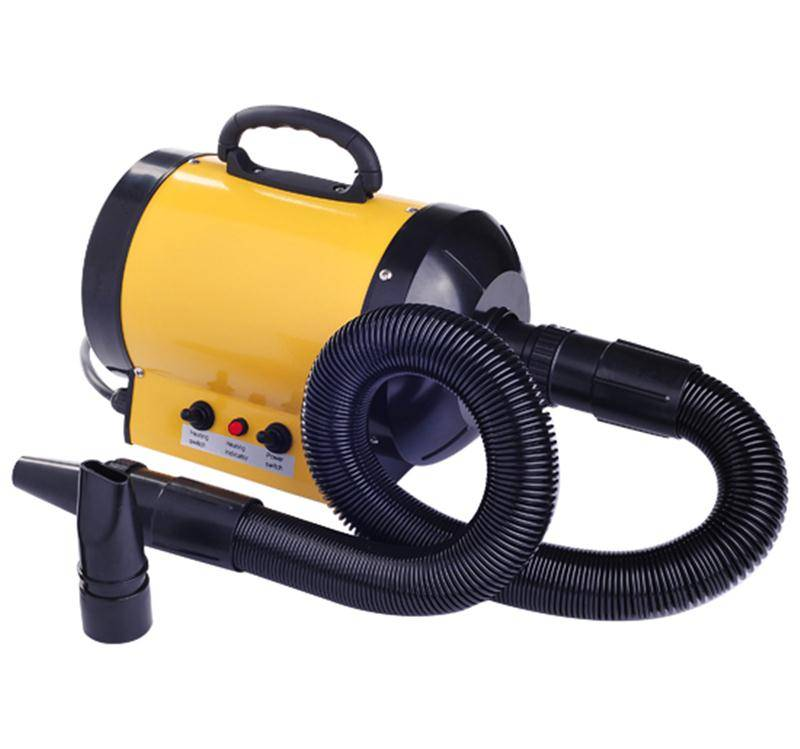 HOMCOM Pet Hair Dryer for Dog Grooming, 2800W-Yellow
