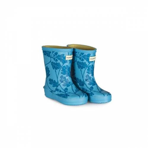 The National Trust National Trust Oak Leaf Hunter Kids First Wellington Boot Starlight 10