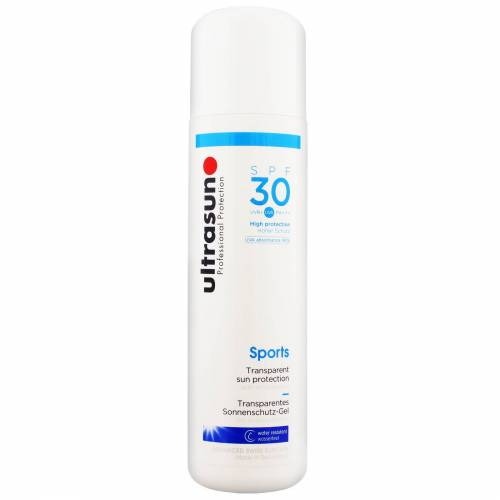 Ultrasun - Sports Formula Transparent Sun Protection SPF30 200ml for Men and Women