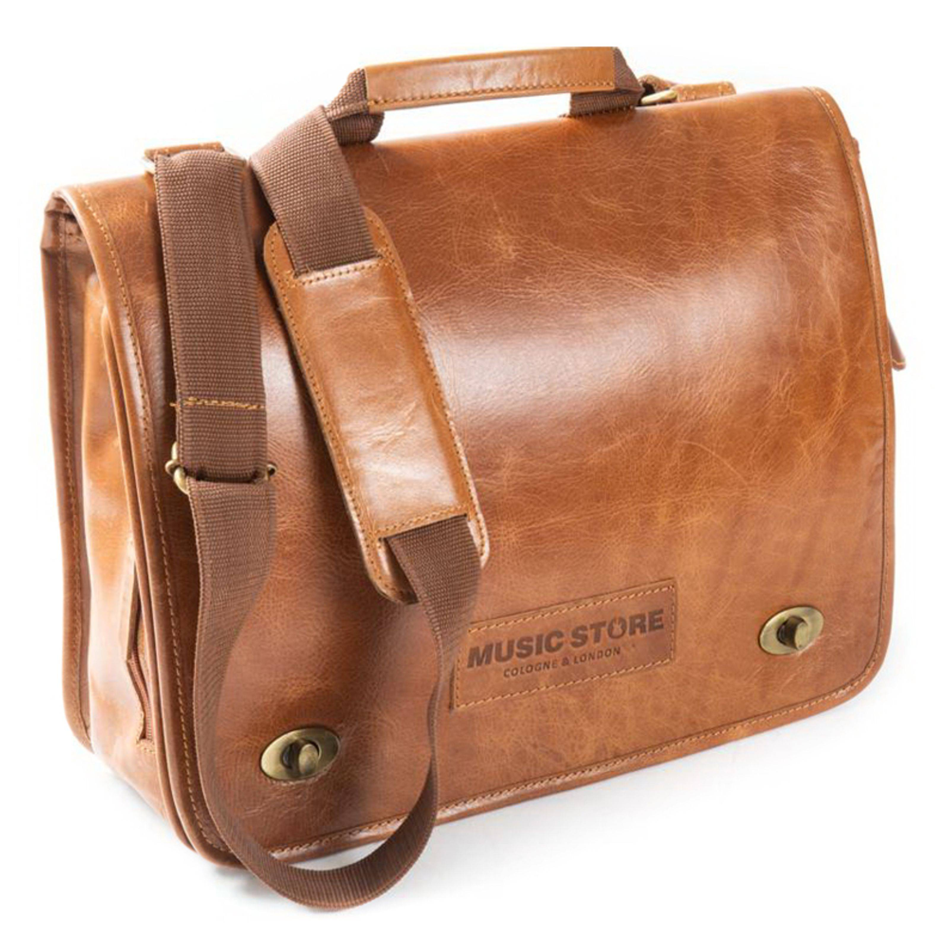 MUSIC STORE Executive Bag Leather Natural EXB-01MTN/L
