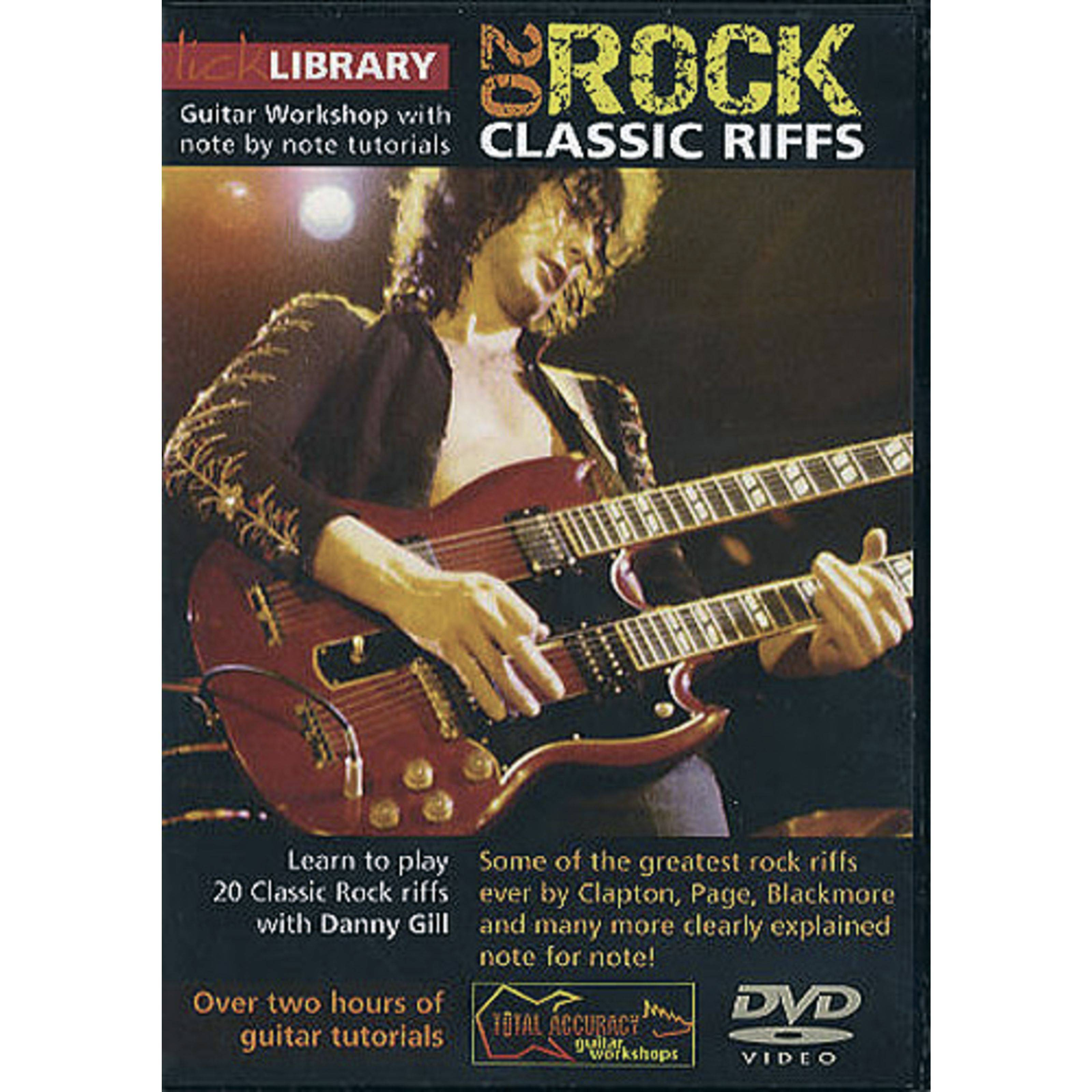 lick library class riffs learn