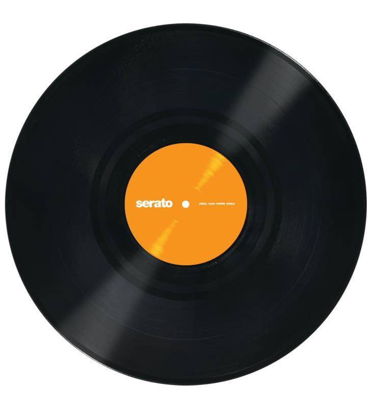 """Serato 12"""" Performance Series Vinyl - Because Music Is Here To Be Played With Black"""