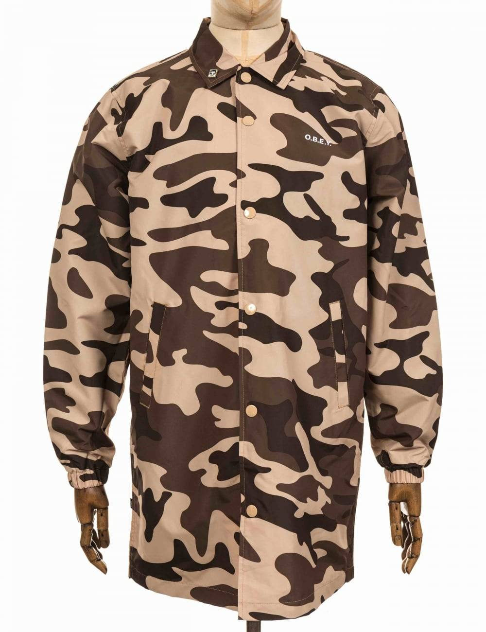 Obey Clothing Master Jacket - Camo Size: Small, Colour: Camo