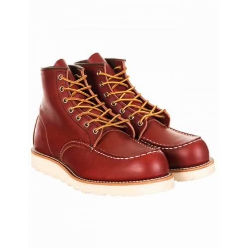 """Red Wing RED 08131D RED 6"""" MOC TOE - 08131D Colour: Oro-Russet Portage"""