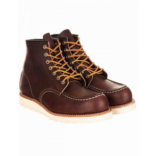 "Red Wing RED 08138D RED 6"" MOC TOE - 08138D Colour: Briar Oil Slick, S"
