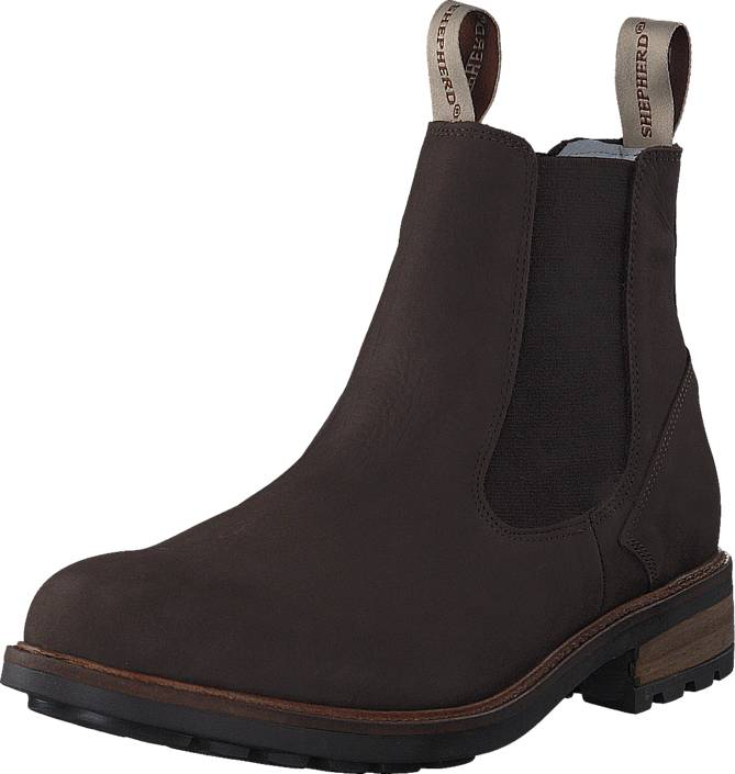 Shepherd Kevin Outdoor Brown, Shoes, Boots, Tall Boots, Brown, Male, 43