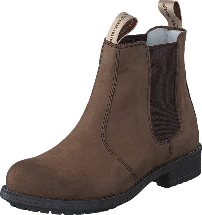 Shepherd Sanna Outdoor Brown, Shoes, Boots, Chelsea Boots, Brown, Female, 42