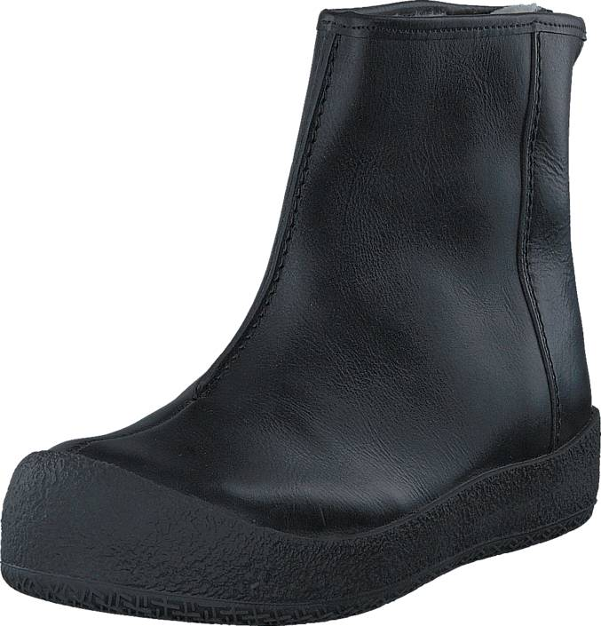 Shepherd Elin Outdoor Moro Black Leather, Shoes, Boots, Curling Boots, Black, Female, 40