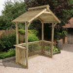Forest Garden Apex Forest Barbecue Shelter Buy Sheds Direct