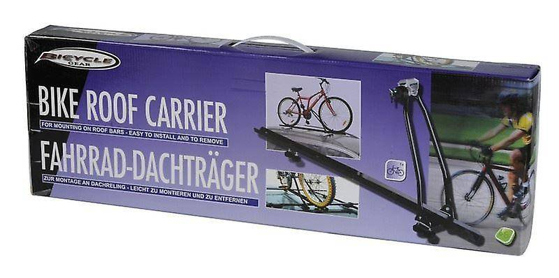 Edco Car Roof Mount Rack For Bike Bicycle Carrier black