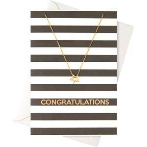 """Orelia Jewellery Gift Cards """"Congratulations"""" Card with a Ring Necklace 1 Stk."""