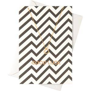 """Orelia Jewellery Gift Cards """"Good Luck"""" Card with a Ring Necklace 1 Stk."""