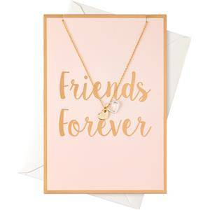 """Orelia Jewellery Necklace """"Friends Forever"""" Card with a Heart Necklace 1 Stk."""