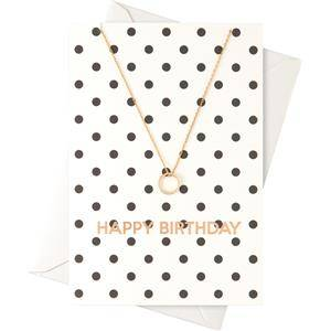 """Orelia Jewellery Necklace """"Happy Birthday"""" Card with a Ring Necklace 1 Stk."""