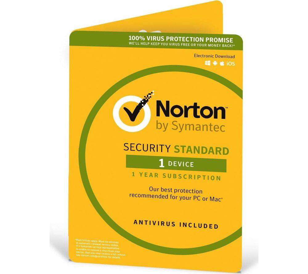 Symantec NORTON Security 2016 - 1 device for 1 year