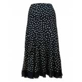 Chesca Women's Chesca Spot frill silk skirt