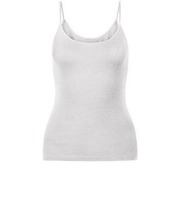 New Look Teens White Strappy Vest (Sizes: 10-11yrs, 12-13yrs, 14-15yrs)