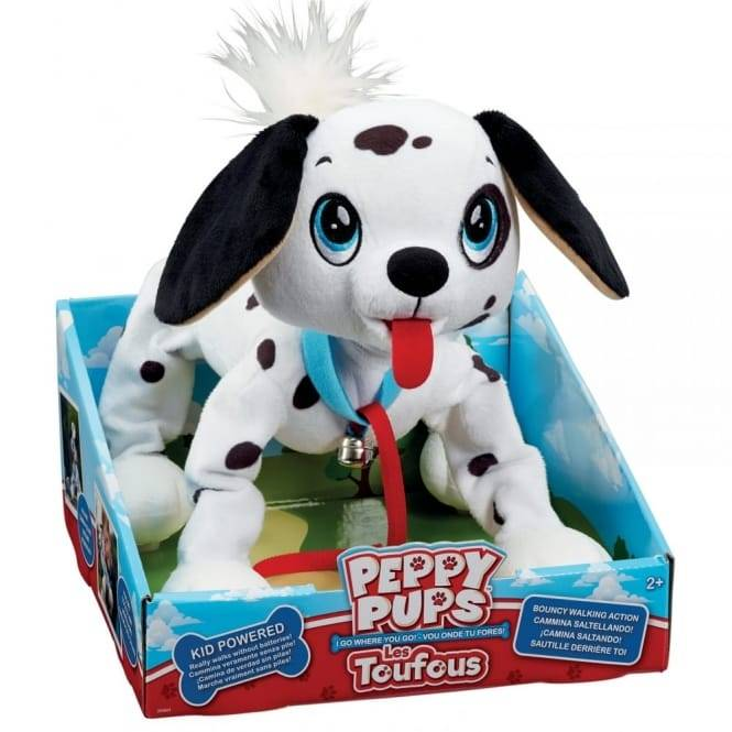 Flair Peppy Pups Dalmation Dog Toy