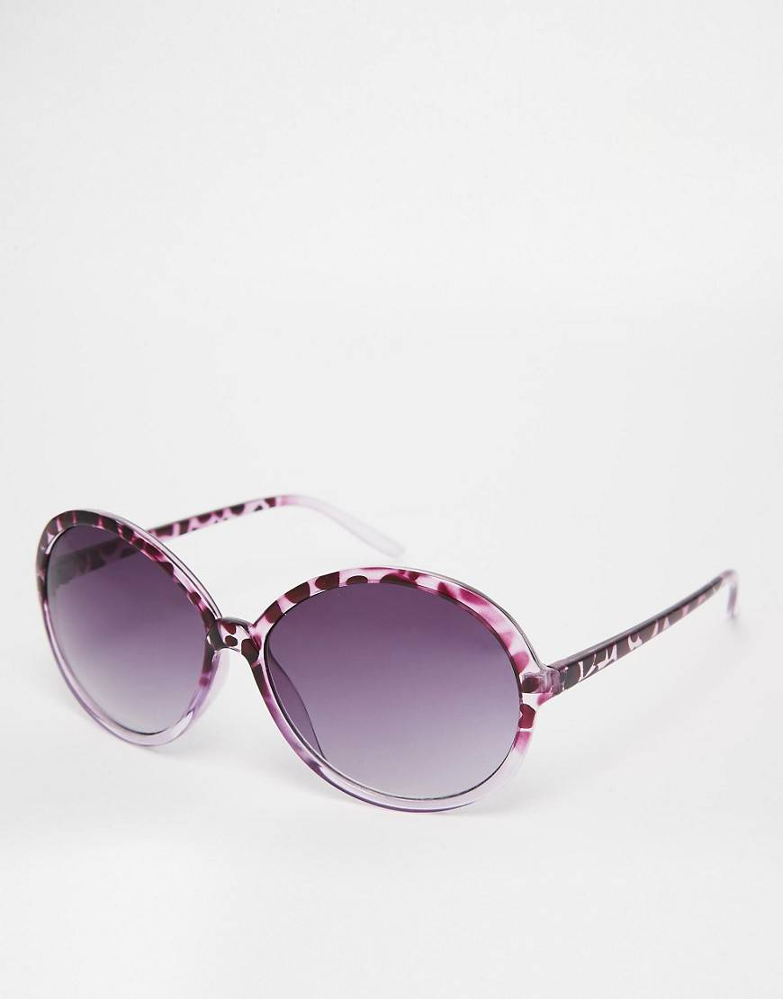 M:UK Oversized Sunglasses - Brown