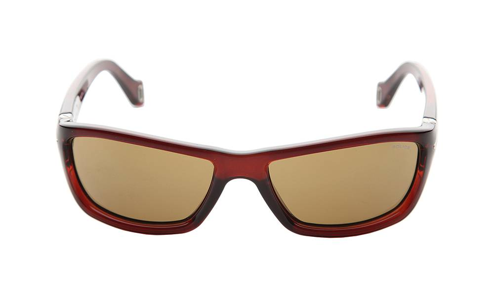 Police Sunglasses - S1708_570Z90_W - Red Frame, Brown Lens
