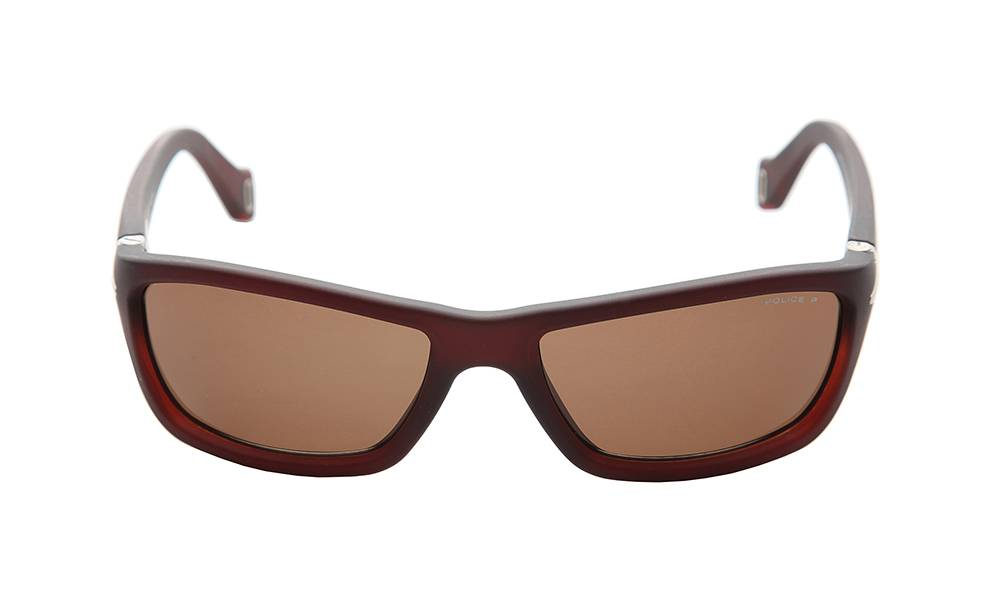 Police Sunglasses - S1708_57Z55P_W - Brown Frame, Brown Lens