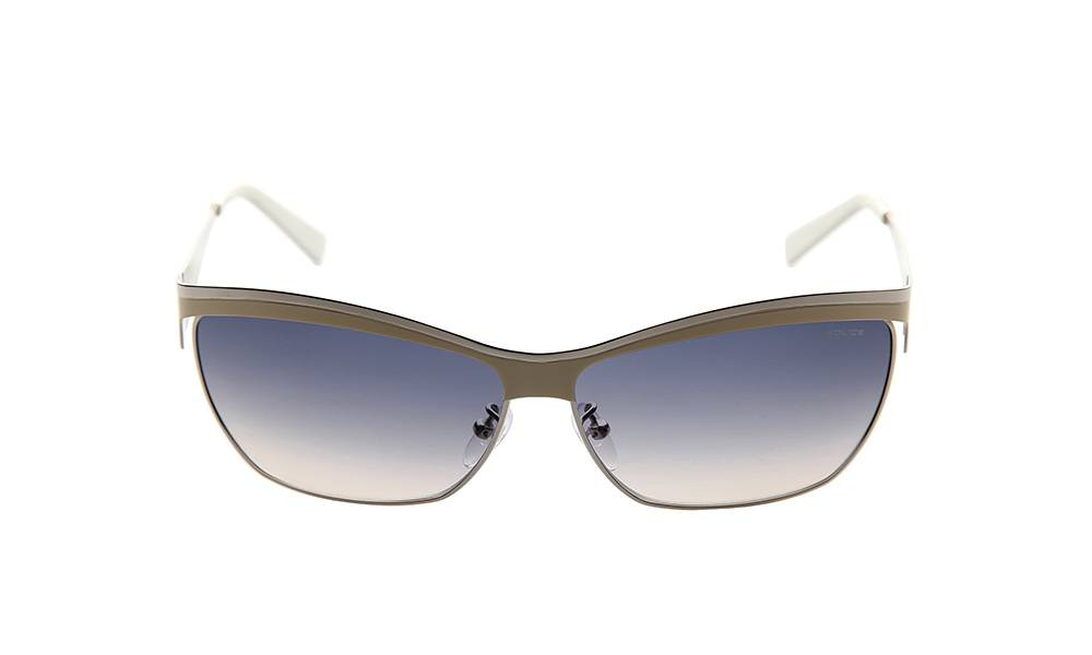 Police Sunglasses - S8764M_620S31_W- Beige Frame, Grey Lens